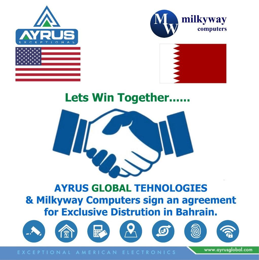 MARCH 2021 WE HAVE SIGN UP A DISTRIBUTION AGREEMENT WITH MILKYWAY COMPUTERS FOR BAHRAIN