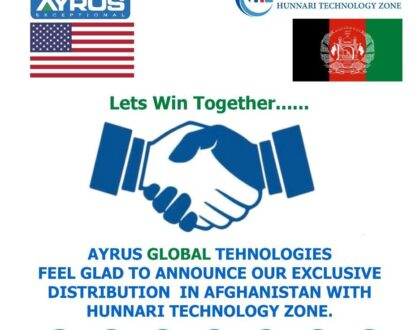 JUNE 2021 MAY 2021 WE HAVE SIGN UP A DISTRIBUTION AGREEMENT WITH HONORYL FOR AFGHANISTAN.